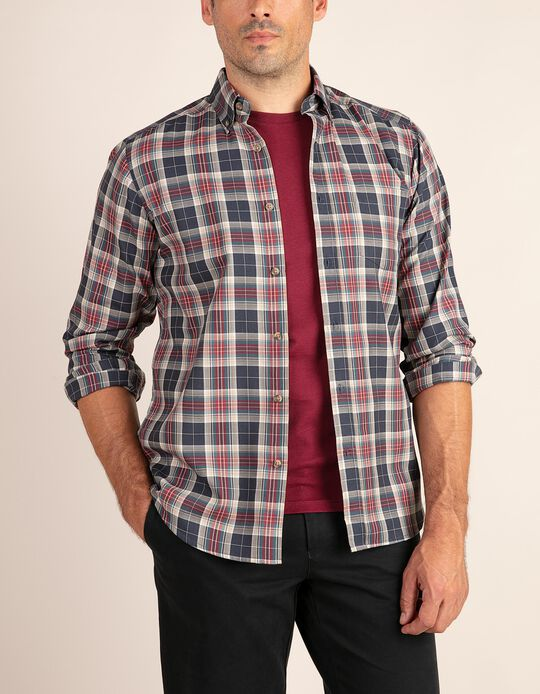 Tartan shirt with pocket, Essentials collection