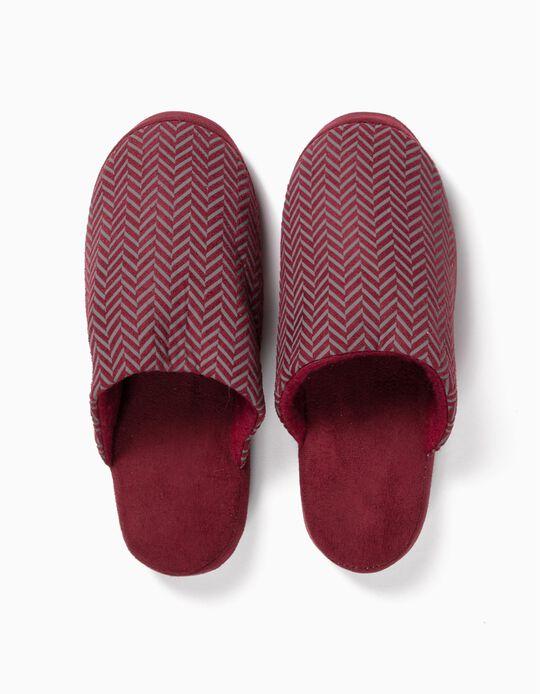 Bedroom Slippers, Herringbone