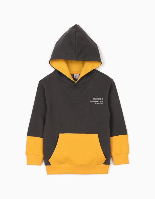 Sweatshirt com Capuz, para Menino