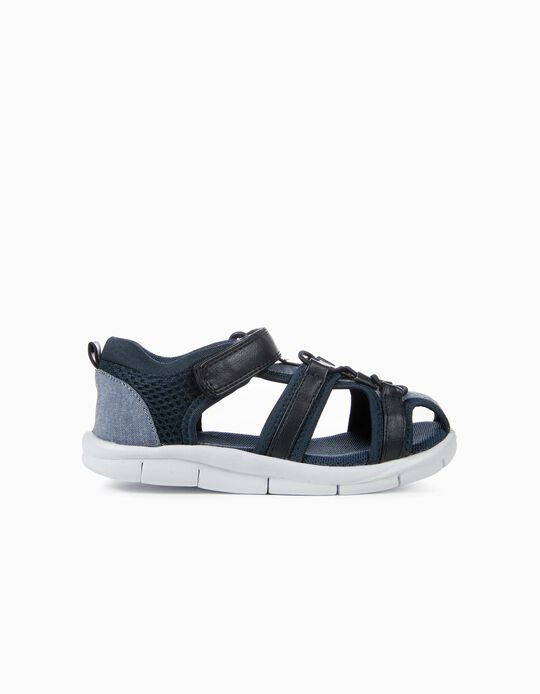 Sandals for Boys, Dark Blue