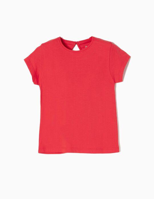 T-shirt Algodão Red