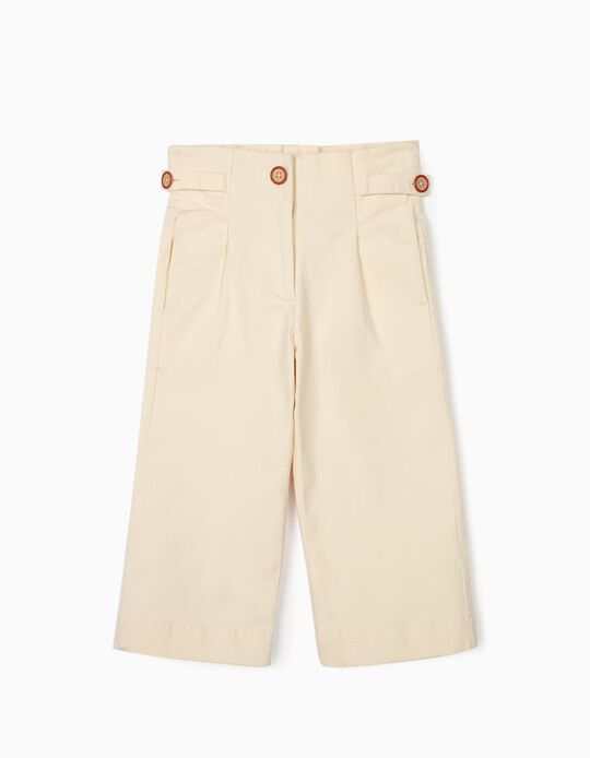 Culottes for Girls, Beige