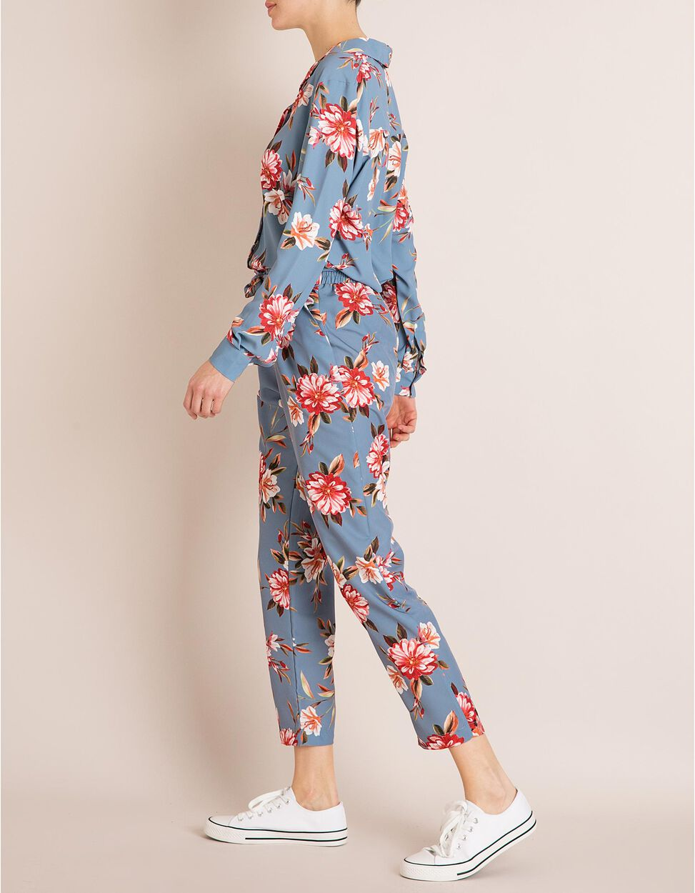Calças Estampado Floral