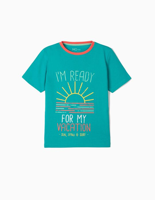 T-shirt for Boys, 'Sun, Sand Surf'