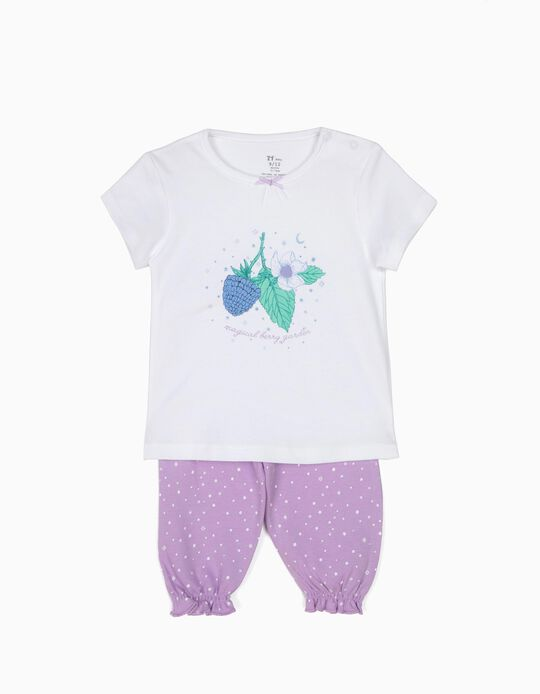 Pijama T-shirt e Calças Magical Berry Garden