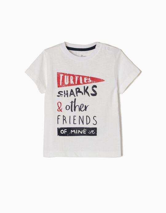 T-shirt Turtles Sharks