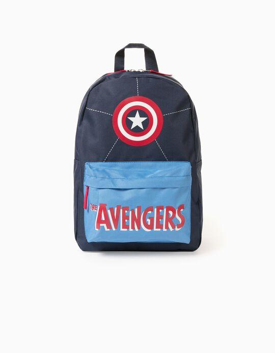 Backpak for Boys 'Captain America', Blue