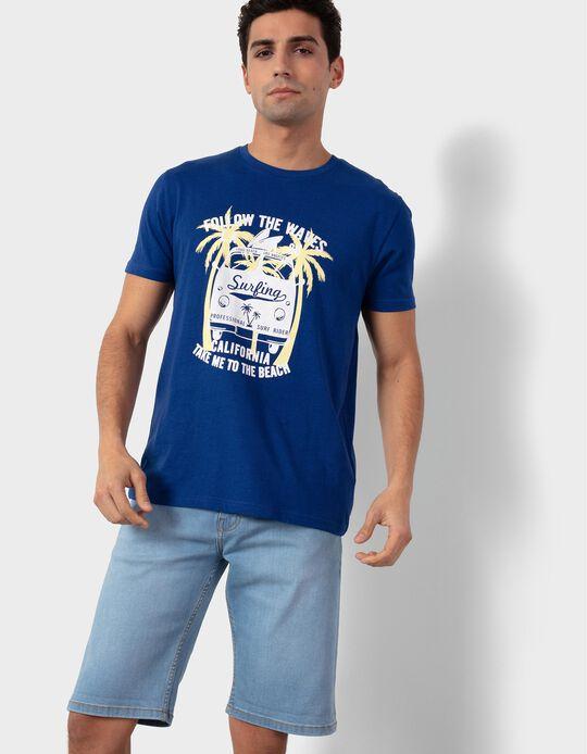 T-shirt for Men, 'Surfing'