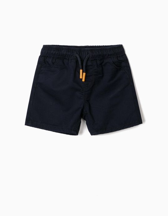 Twill Shorts for Baby Boys