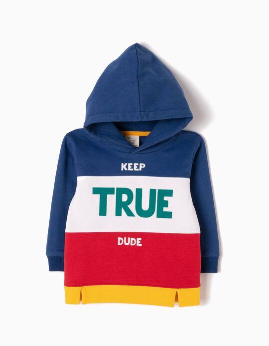 Sweatshirt com Capuz Keep True