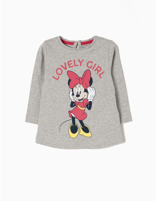 T-Shirt Manga Comprida Lovely Minnie