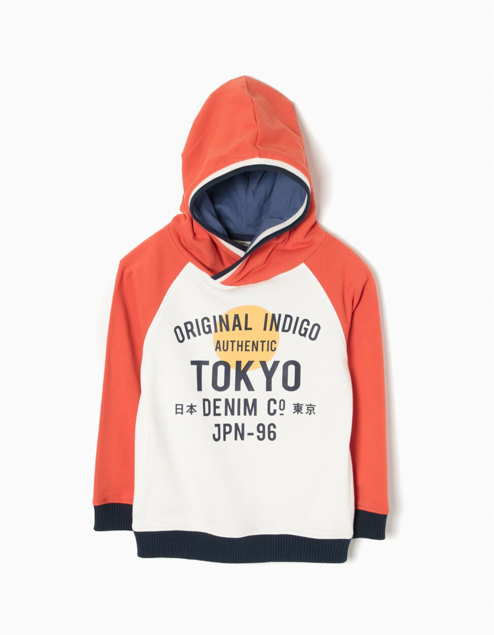 Sweatshirt com Capuz JPN
