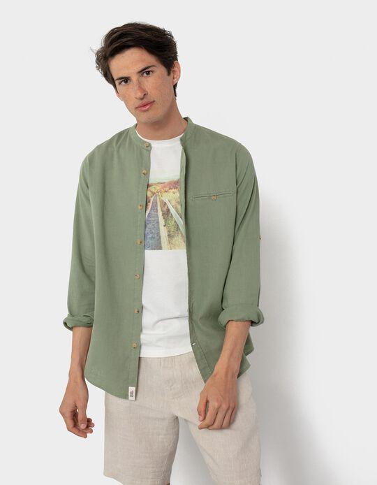 Slim Fit Shirt, Linen