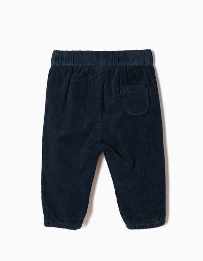 Calças Bombazine Azuis