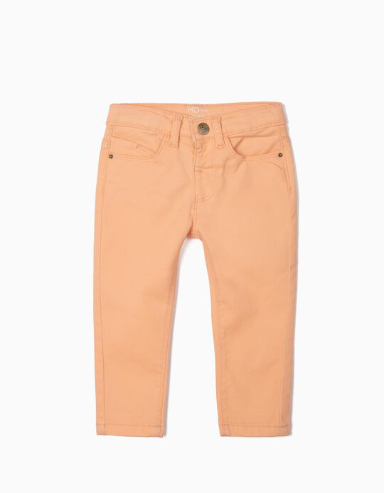 Regular Fit Stretch Trousers for Girls