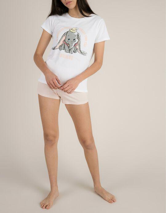 Pijama Com Estampado Dumbo