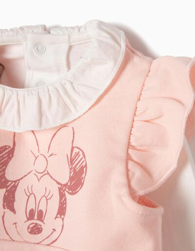 Conjunto Vestido-Body e T-shirt Minnie
