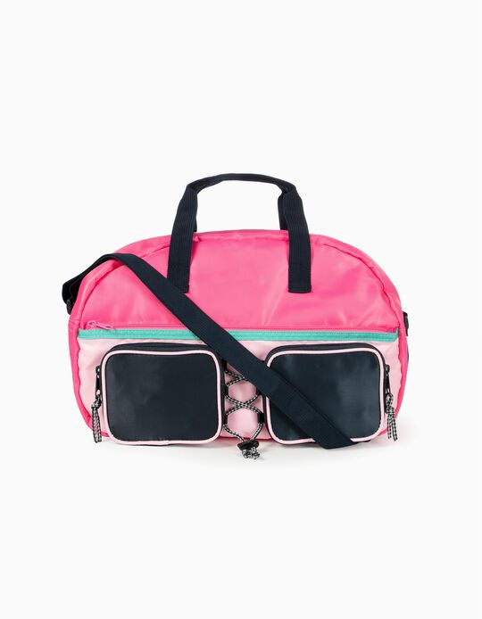 Sports Bag for Girls, Pink