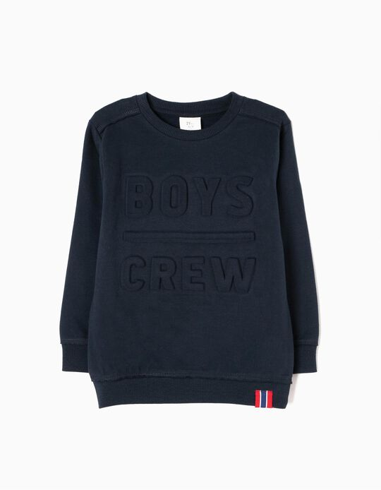 Sweatshirt Boys Crew