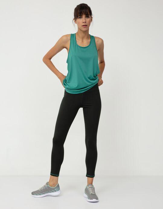 Sports Leggings for Women, Black