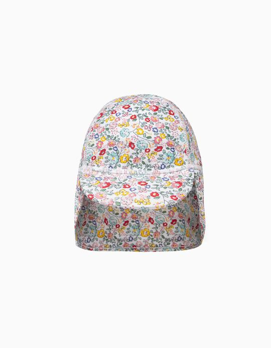 Hat with UPF 80 for Baby Girls 'Flowers', Multicolour
