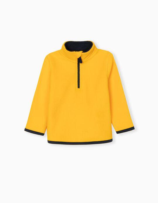 Camisola Polar, Bebé, Amarelo