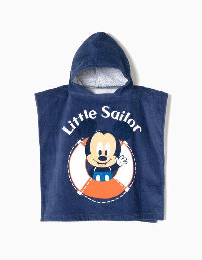 Poncho de Praia Little Sailor Mickey
