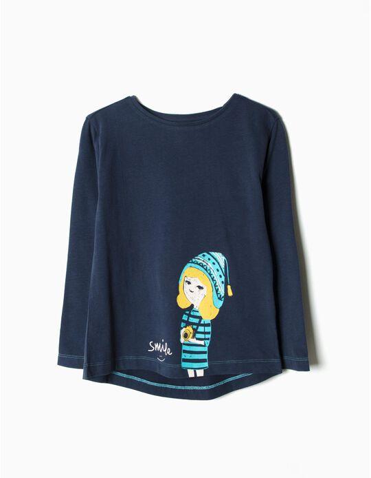 T-shirt Manga Comprida Smile