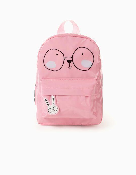 Waterproof Backpack for Girls 'Bunny', Pink