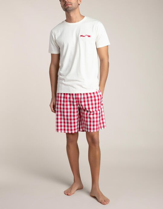 Conjunto Pijama Quadriculado