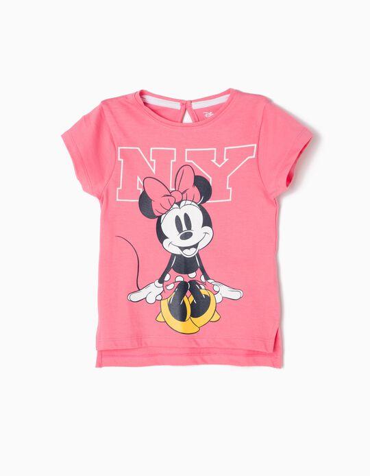 T-shirt Minnie NY Rosa