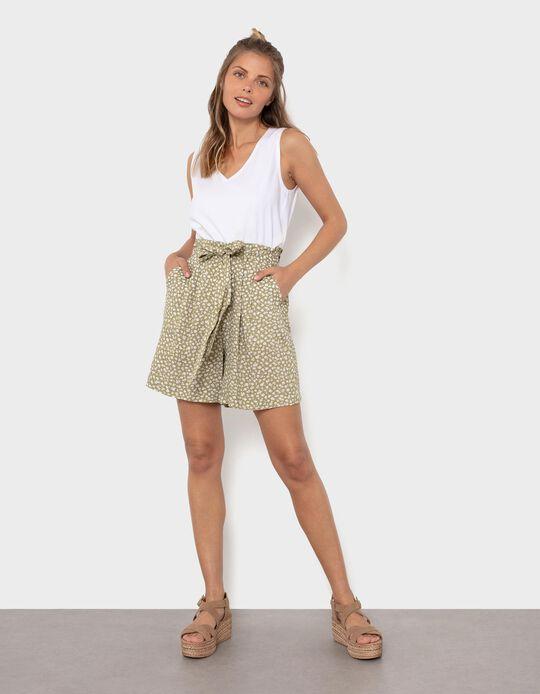 Fluid Floral Shorts, Women