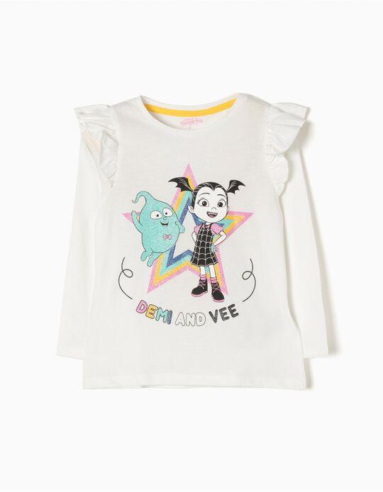 T-shirt Manga Comprida Vampirina