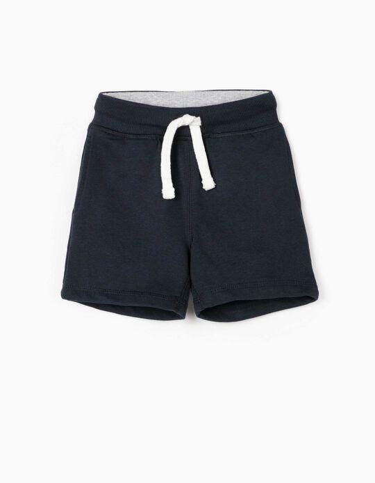 Sports Shorts for Baby Boys, Dark Blue