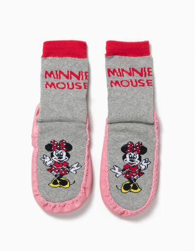 Meias-Pantufa Antiderrapantes Minnie