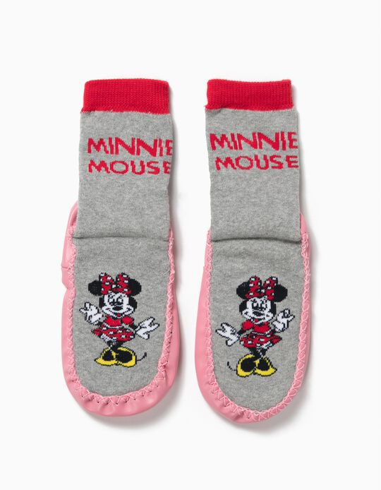 Meias Pantufas Minnie