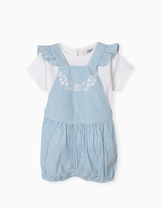 T-shirt and Playsuit, Baby Girls