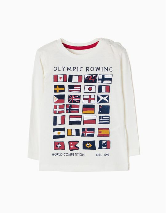 T-shirt Manga Comprida Olympic Rowing