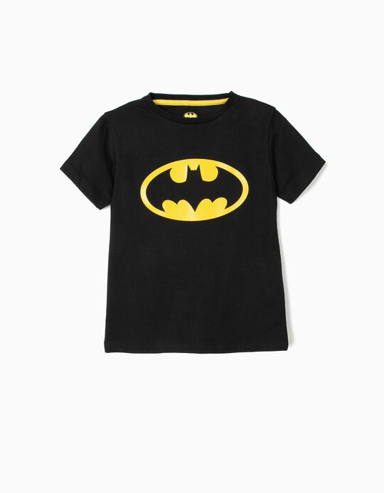 T-shirt para Menino 'Batman', Preto