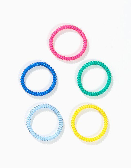 Pack 4 Elásticos Coloridos