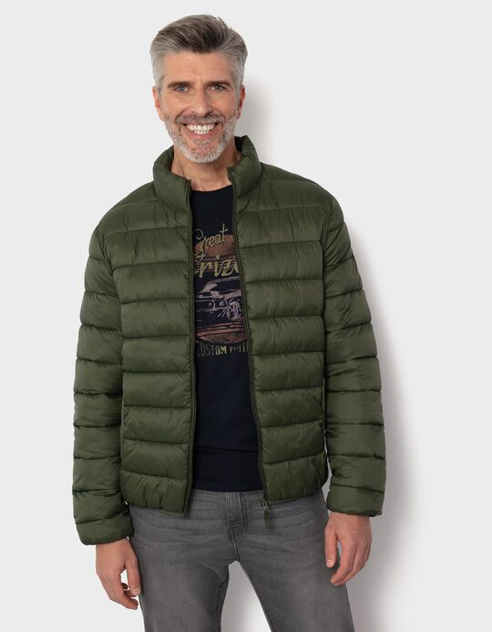 Cropped Padded Jacket for Men