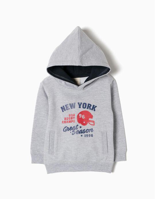 Hooded Sweatshirt, NY