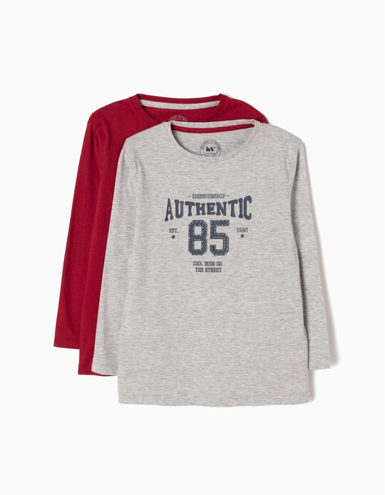 Pack of 2 T-Shirts, Authentic 85