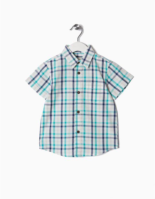 Camisa Manga Curta com Laço
