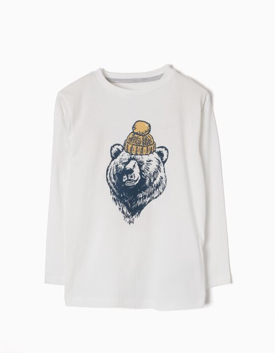 T-shirt Manga Comprida Cool Bear
