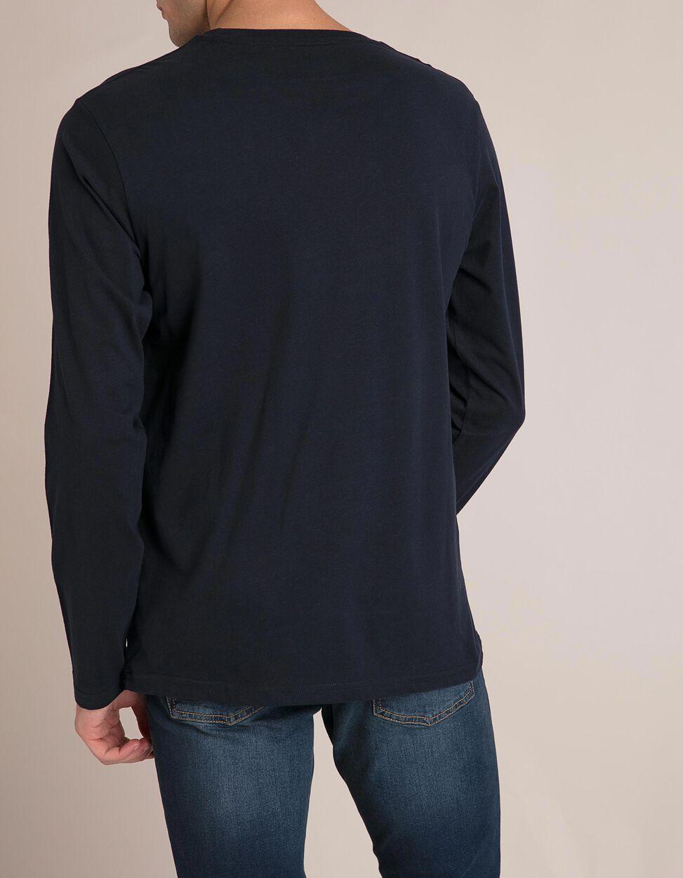 T-Shirt Mangas Compridas Algodão