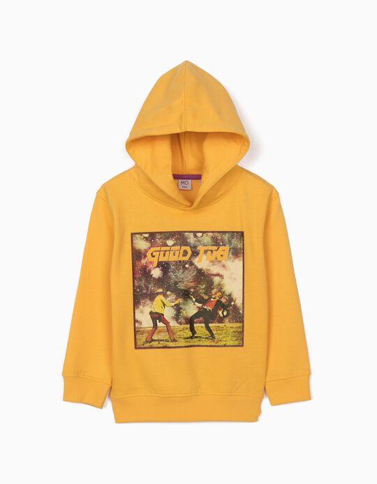Sweatshirt cardada Good Job