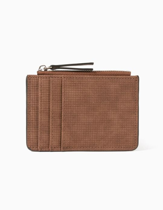 Brown Cardholder, for Men