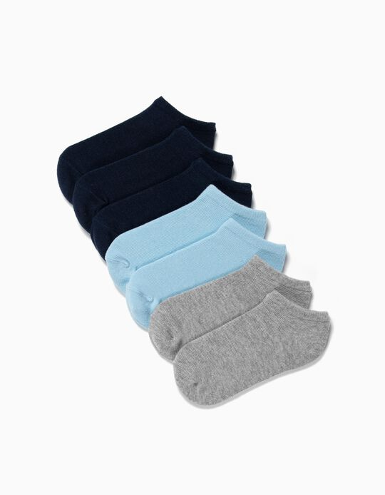 Plain Socks, pack of 7