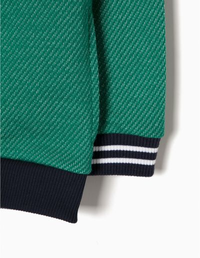 Casaco Felpa Verde